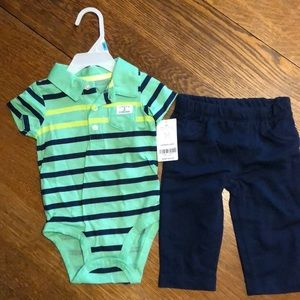Carters 2pc NWT Baby Boy Outfit